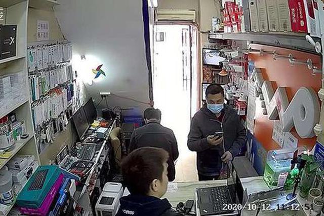 郑州男子佯装上网连续行窃 4小时盗走8千元网吧电脑配件
