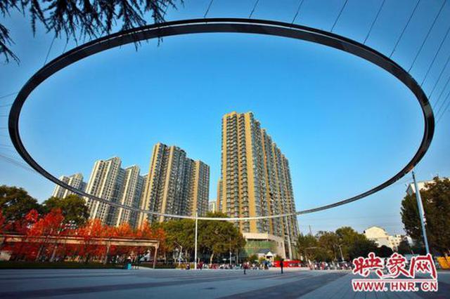 """大浪淘""""砂"""" 郑州再现标志性网红打卡地(图)"""