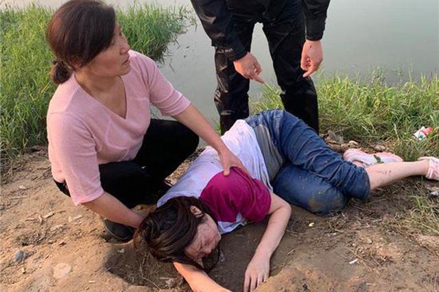 郑州孕妇报警交代财产分配后轻生 民警跳河救人