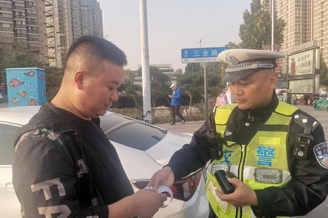 738起!郑州副驾驶不系安全带交通违法行为抓拍第一天