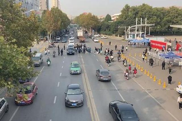 """郑州""""最""""让人头疼的路口诞生!车主和行人都有点迷"""