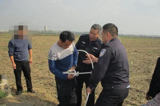 邓州三岁女童不慎坠入枯井 民警紧急下井救人