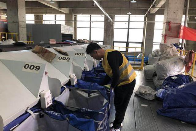 双11期间郑州预计新增邮(快)件处理场地15.9万平方米