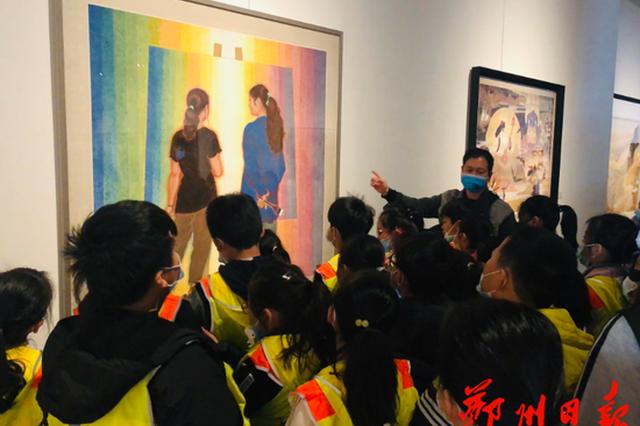 16天接待3万多观众 郑州美术馆火了(图)