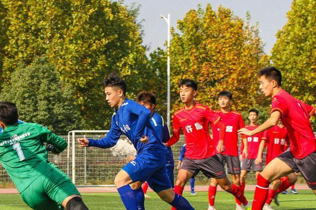 河南省U17足球锦标赛鸣哨