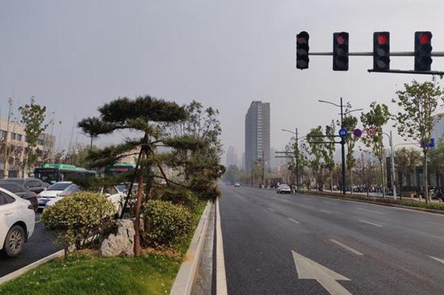 本周末郑州重度雾霾预警 居民出行可佩戴口罩