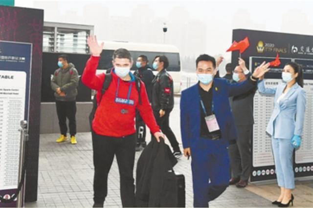 国际乒联总决赛参赛人员全部集结完毕 郑州欢迎您!