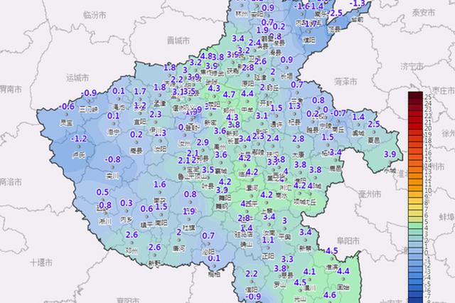 本周河南黄河以南有两次小雨雪 冷冷冷持续!
