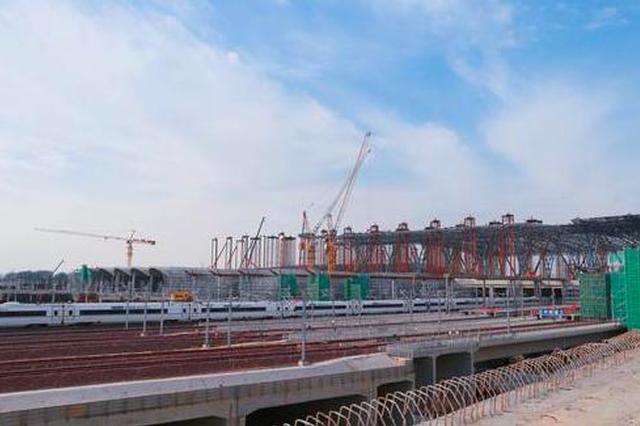 好消息!新郑机场站至郑州南站城际铁路试运行