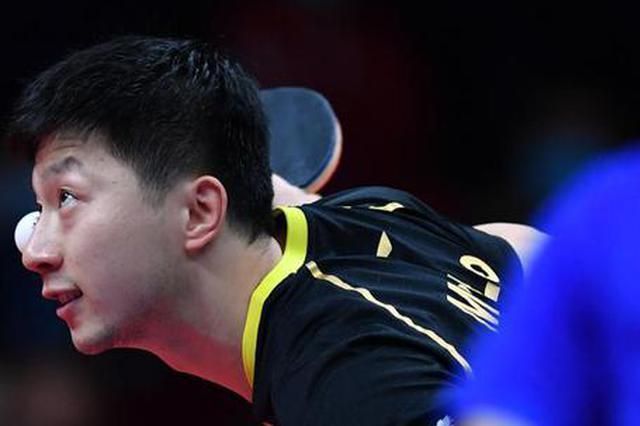 乒乓球—国际乒联总决赛:马龙夺冠(图)