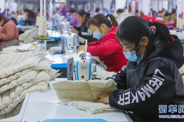 信阳光山: 小羽绒成就大产业(图)