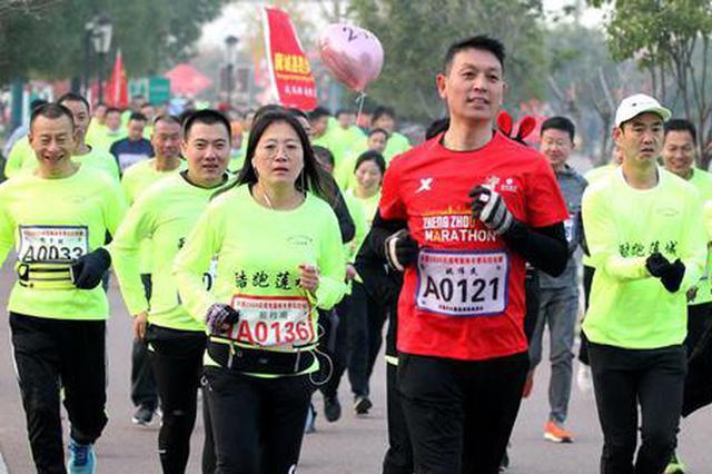 许昌举办2020冬季马拉松比赛(图)