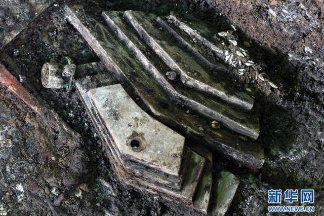 组图:洛阳发现2600多年前戎人王级大墓