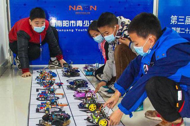 南阳:机器人大赛激发创造活力(图)