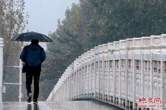 郑州下雪了!用一组图片揭开郑州初雪的美