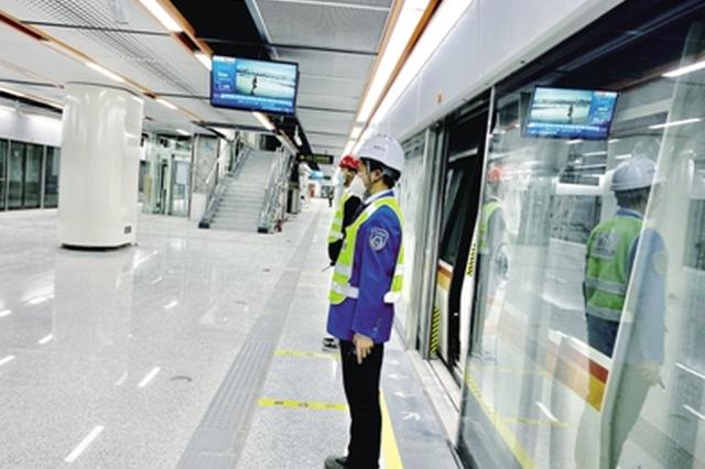 """郑州3号线20天""""试跑""""完成 高峰行车间隔约为6分30秒"""
