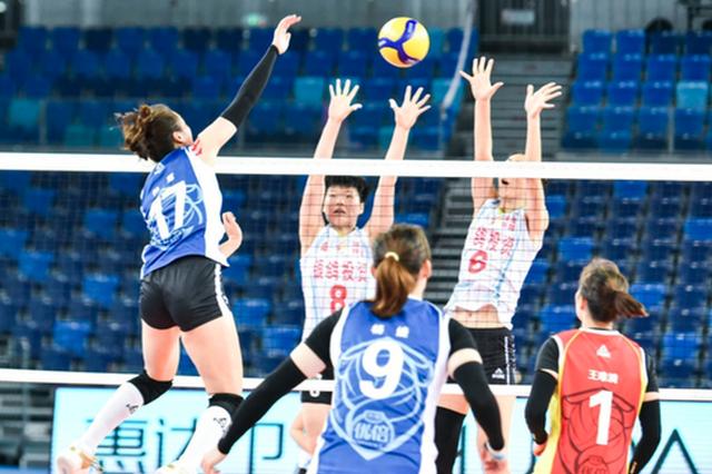全国女排超级联赛第二阶段结束 河南女排暂列第11位