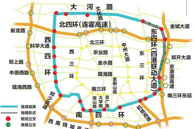 郑州单双限行时段不得在连霍高速限行区域内上下站
