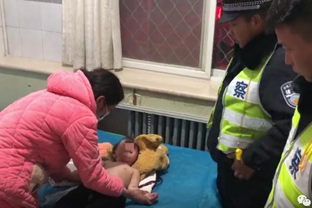 漯河:幼儿严重烧伤 交警疾驰百公里上演极速救援