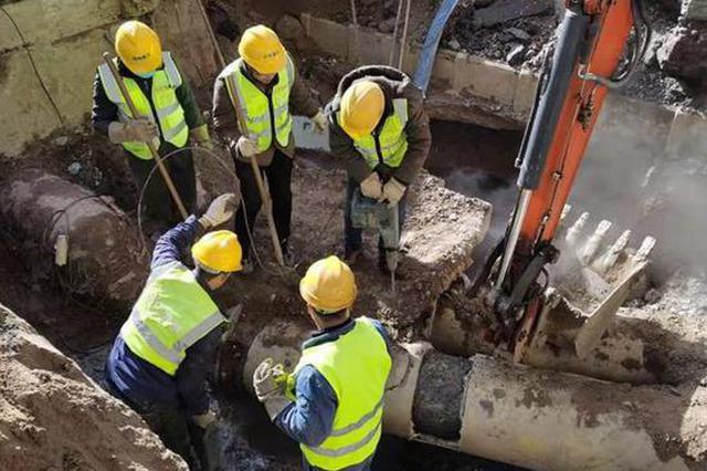 郑州热力管道抢修完成 老旧管道爆管有四个原因
