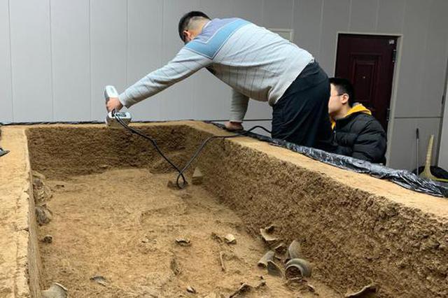 首次出土蝉形玉器 二里头遗址最新发现高规格墓葬(图)