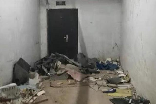 郑州一小区地下车库成垃圾中转站 物业回应工作有不足