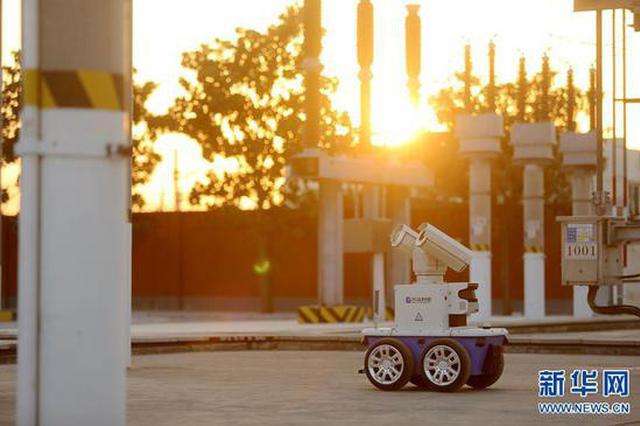 郑州:智能机器人巡检牵引变电所(图)