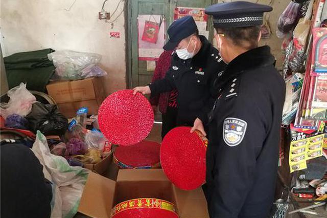漯河一五金店藏匿10万响鞭炮 店主被行政拘留