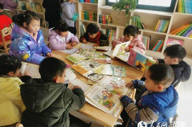平顶山郏县:乡村公益书屋播撒知识种子(图)