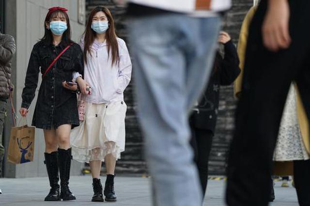 短袖、冰淇淋……郑州迎来最暖二月(图)