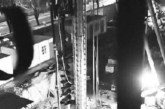 郑州工地施工吵得居民睡不着觉 施工方:施工证明已经去办了