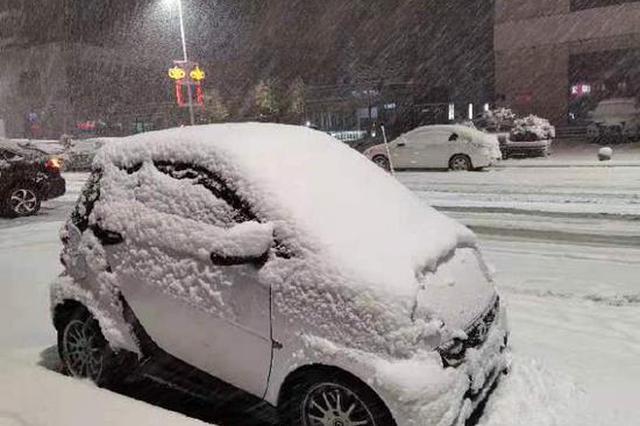 """郑州下雪的同时还打雷 难道是""""天气异常""""?"""
