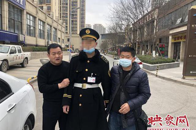 郑州一小区内接连发生入室盗窃案 竟是保安监守自盗