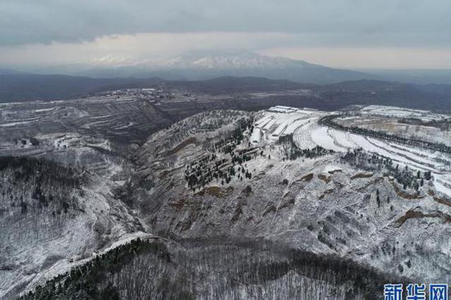 三门峡灵宝:春雪飘落山更秀(图)