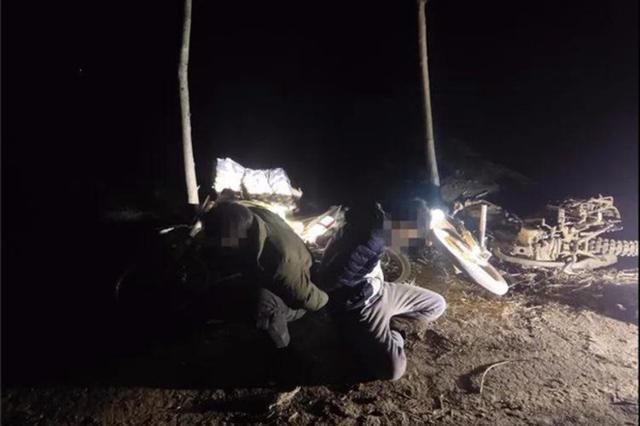 两男子鄢陵县麦田里骑车追捕野兔 涉嫌非法狩猎罪被刑拘