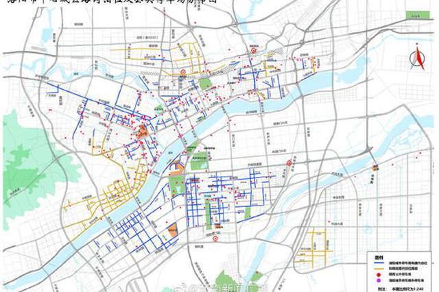 今年洛阳将新建50个停车场 新增12680个泊位