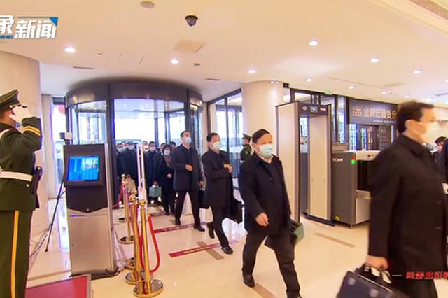 抵京!北京河南大厦里 是什么让代表们纷纷驻足?