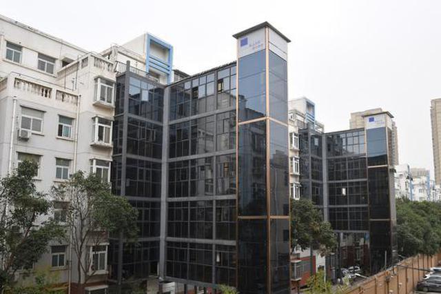 """郑州加梯迈入""""加速度"""" 今年既有住宅共加装电梯137部"""