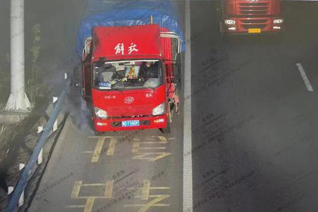 希望沒有你!河南高速交警集中曝光一批車輛