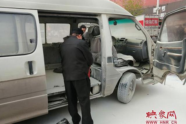 郑州一小货车两次发生自燃 车主:可能是线路老化所致