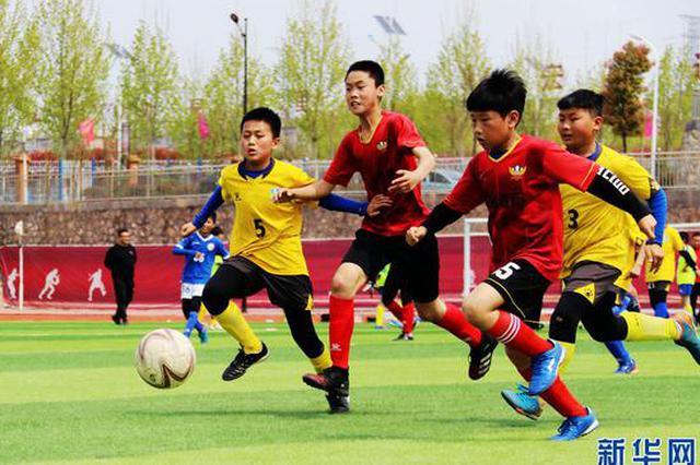 南阳内乡:春天里 尽情享受足球的快乐(图)