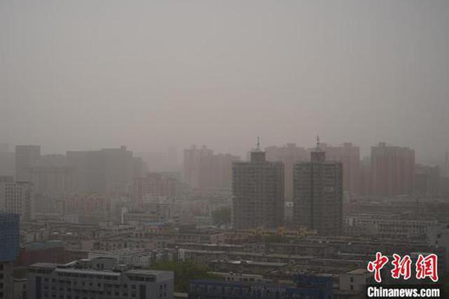 河南多地现浮尘扬沙天气 空气污染严重(图)