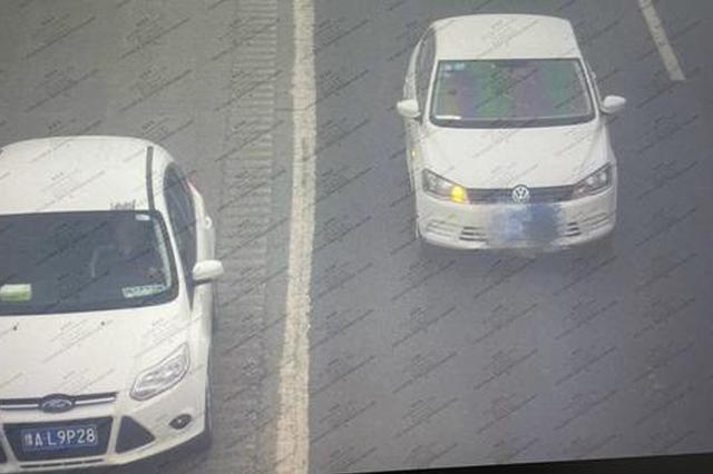 交警集中曝光一批京港澳高速郑州段违法占用应急车道车辆