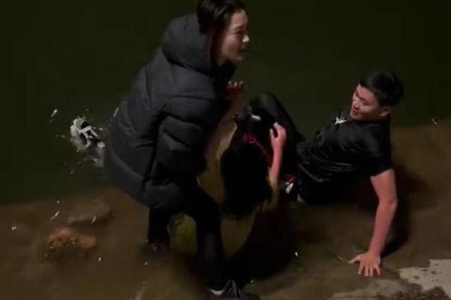 伊川27岁小伙50米外奋不顾身跳河救人 现场一幕令他意外感动