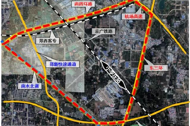 郑州将新建一座大型火车站——小李庄站 与郑州车站规模相当