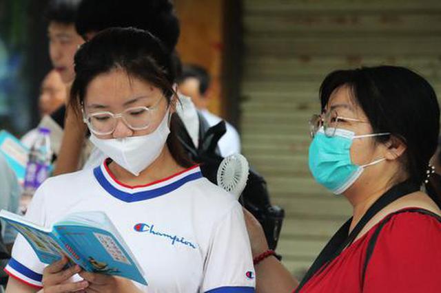 河南开封:4万多名考生走进高考考场