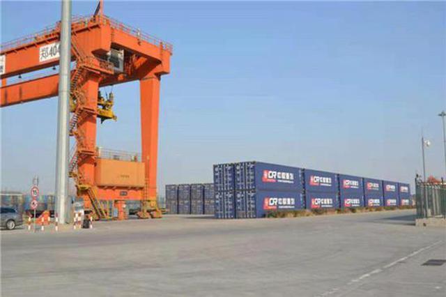 河南进境粮食指定口岸进口粮食吞吐量累计突破10万吨
