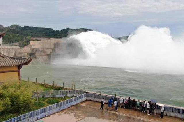 黄河2021年汛前调水调沙启动