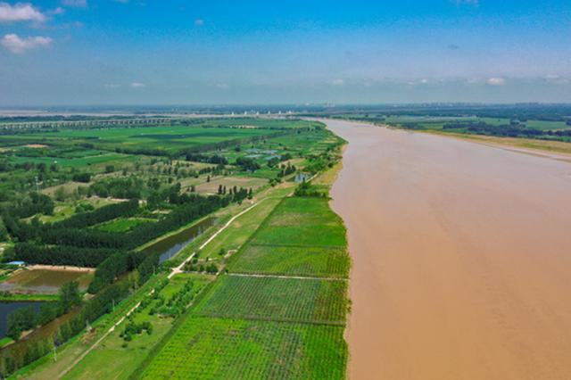 郑州:静美的黄河(图)