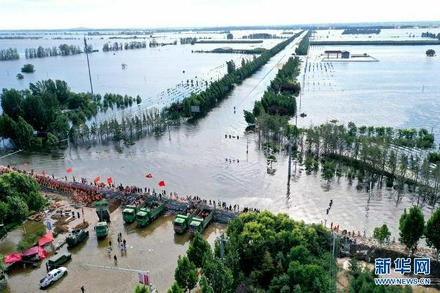 鹤壁浚县:共筑堤坝(图)